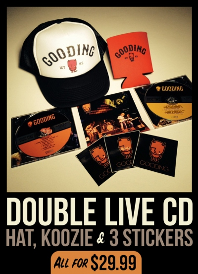 'Live at the Murdock Theater' Double Live CD Package